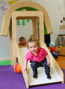 Toddler room at For Your Child Preschool in Lincoln Park, Chicago